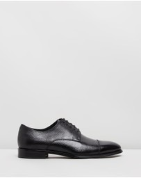 Double Oak Mills - Burke Embossed Leather Dress Shoes