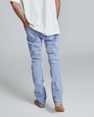 Cotton On - Super Skinny Jeans - Jeans (Tour Blue Blowout Repair) Super Skinny Jeans