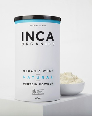 Inca Organics Certified Organic Whey Protein Powder   Natural (Unflavoured)