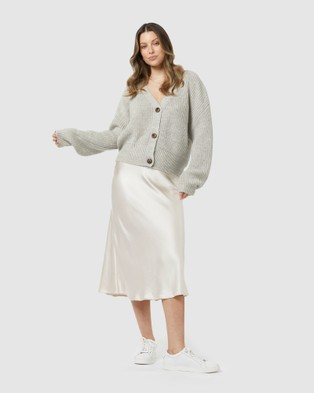 ids Bethany Cardigan - Jumpers & Cardigans (Grey)