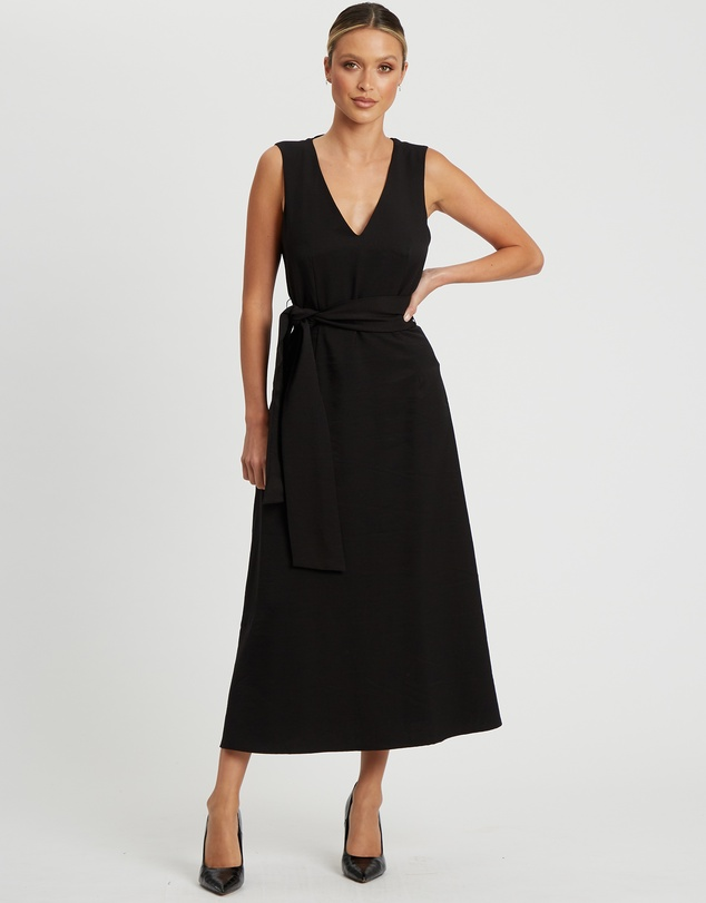 Willa - Collins V Neck Midi