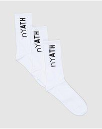 nY ATH - 3-Pack Athletic Socks