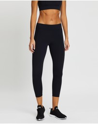 Running Bare - Ab Waisted Flex Zone 7/8 Tights