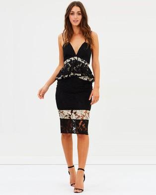 Buy Talulah - Analog Body Con Dress - Bodycon Dresses Black & White Lace -  shop Talulah dresses online