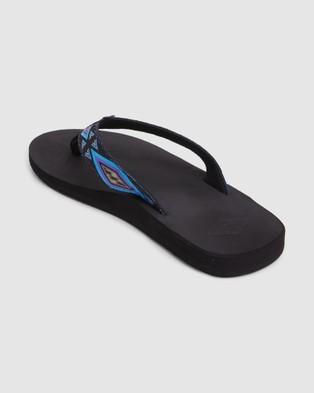 Billabong All Day Woven Thongs - Sandals (BLACK)