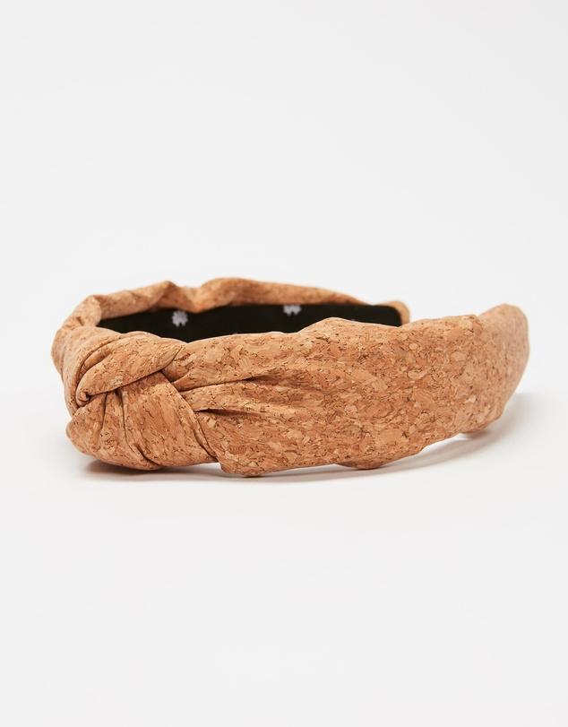 Women Cork Knotted Headband