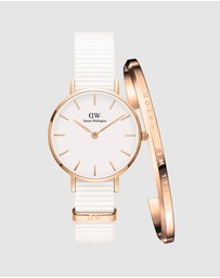 Daniel Wellington - Gift Set - Petite Dover 28mm + Classic Bracelet Small
