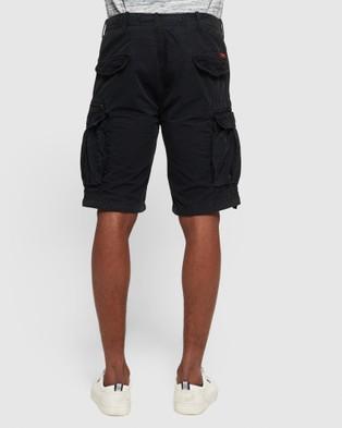 Superdry Parachute Cargo Shorts - Shorts (Washed Black)