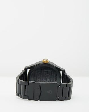 Nixon Sentry SS - Watches (Matte Black & Gold)