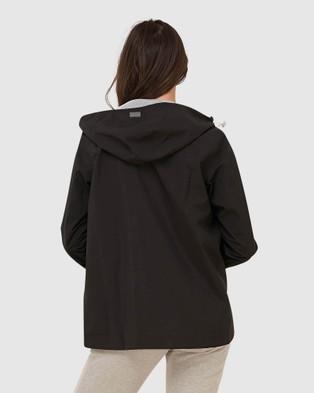 Superdry  Hydrotech Harpa Waterproof Jacket - Coats & Jackets (Black)
