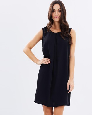 Atmos & Here – Holly Pleat Front Sleeveless Dress