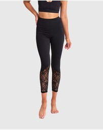 Dharma Bums - Spell Lace Leggings Ankle Length