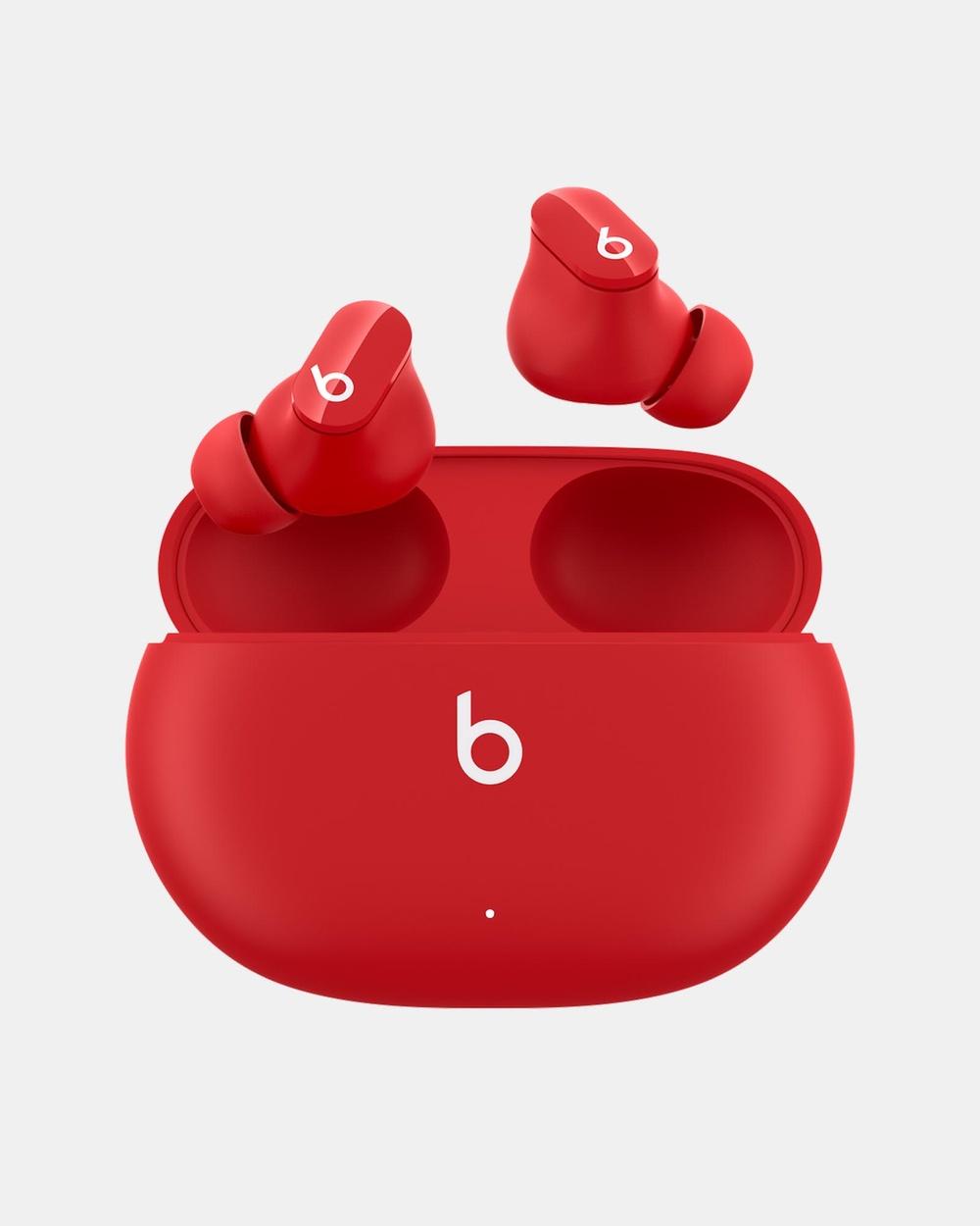 Beats by Dr. Dre Studio Buds True Wireless Noise Cancelling Earphones Tech Accessories Red