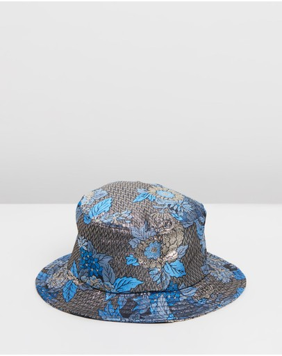 06b9cb91d6e3a Bell Flower Bucket Hat by Avenue Online