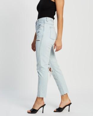 Ziggy Denim Meet My Mum Organic Jeans - High-Waisted (Blue)