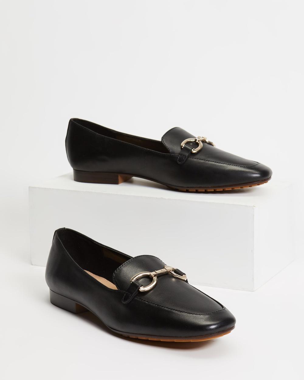 ALDO Wicilama Loafers Flats Black Australia