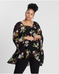 Estelle - Flower Petal Top