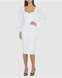 BY JOHNNY. - Laila Belle Sleeve Midi Dress