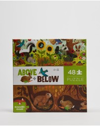 CROCODILE CREEK - Above & Below Backyard 48-Piece Puzzle