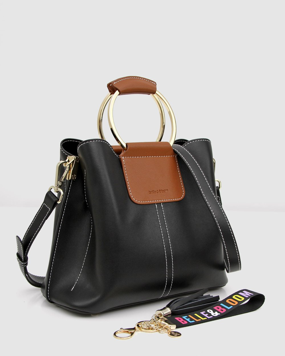 5881957ba Twilight Leather Cross-Body Bag by Belle & Bloom Online | THE ICONIC |  Australia