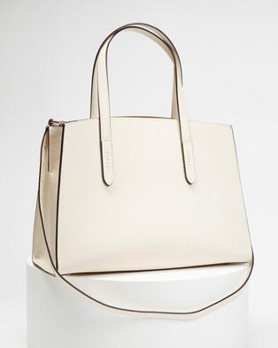 Coach Charlie Carryall - Handbags (Chalk)