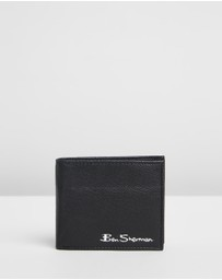 Ben Sherman - Clayton Leather Wallet with Coin Pocket