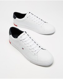 Tommy Hilfiger - Essential Leather Detail Vulcanised Sneakers