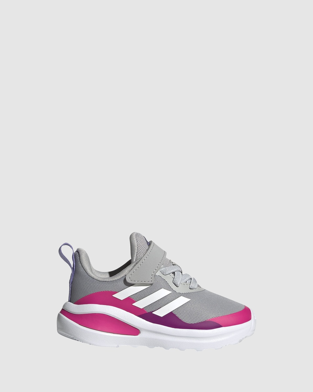 adidas Performance Fortarun EL Infant Lifestyle Shoes Grey/White/Pink