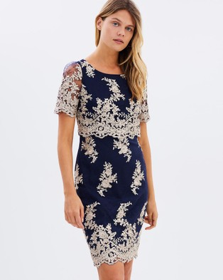 Review – Heavenly Lace Dress – Bridesmaid Dresses (Navy)