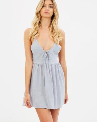 Girl & The Sun – Sahara Mini Dress Blue