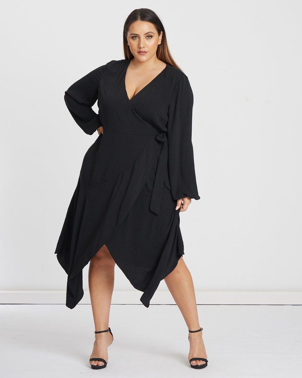 0e59cbf90bb Mora Wrap Dress by Tussah Curve Online