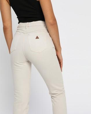 Abrand A '94 High Slim Jeans - Slim (Stone)