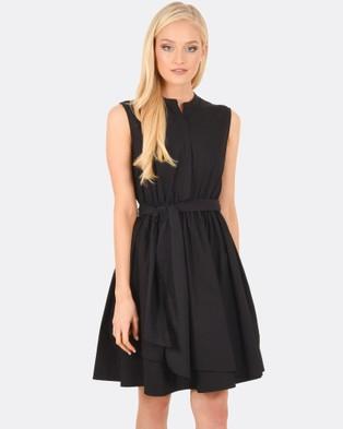 Forcast – Miley Sleeveless Dress Black