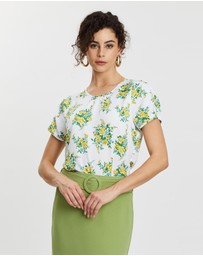 Review - Farrah Floral Top