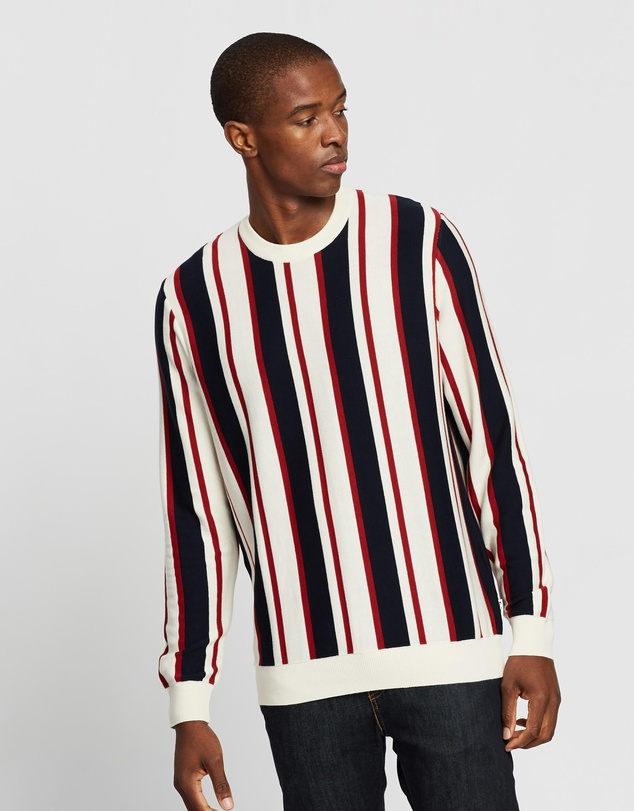 Ben Sherman - Knitted Mod Stripe Crew