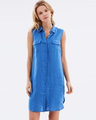 Sportscraft – Quinn Shirtdress – Dresses (Lapis Blue)