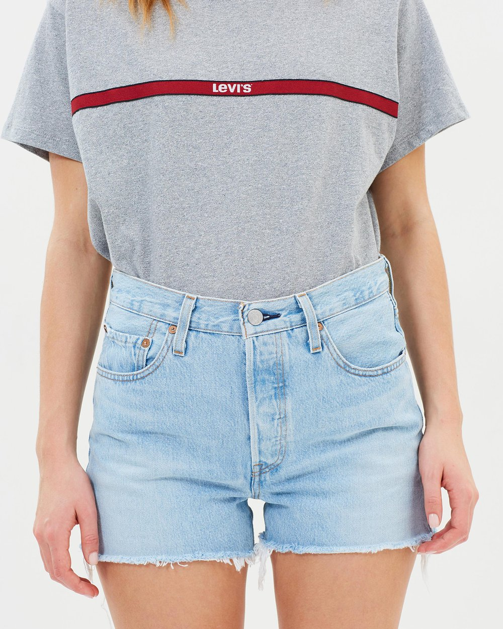bbc60871dd 501 High Rise Shorts by Levi's Online | THE ICONIC | Australia