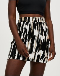 New Balance - NB Athletics Collide Printed Terry Skirt