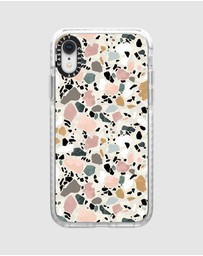 Casetify - Terrazzo Impact Protective Case For iPhone XR