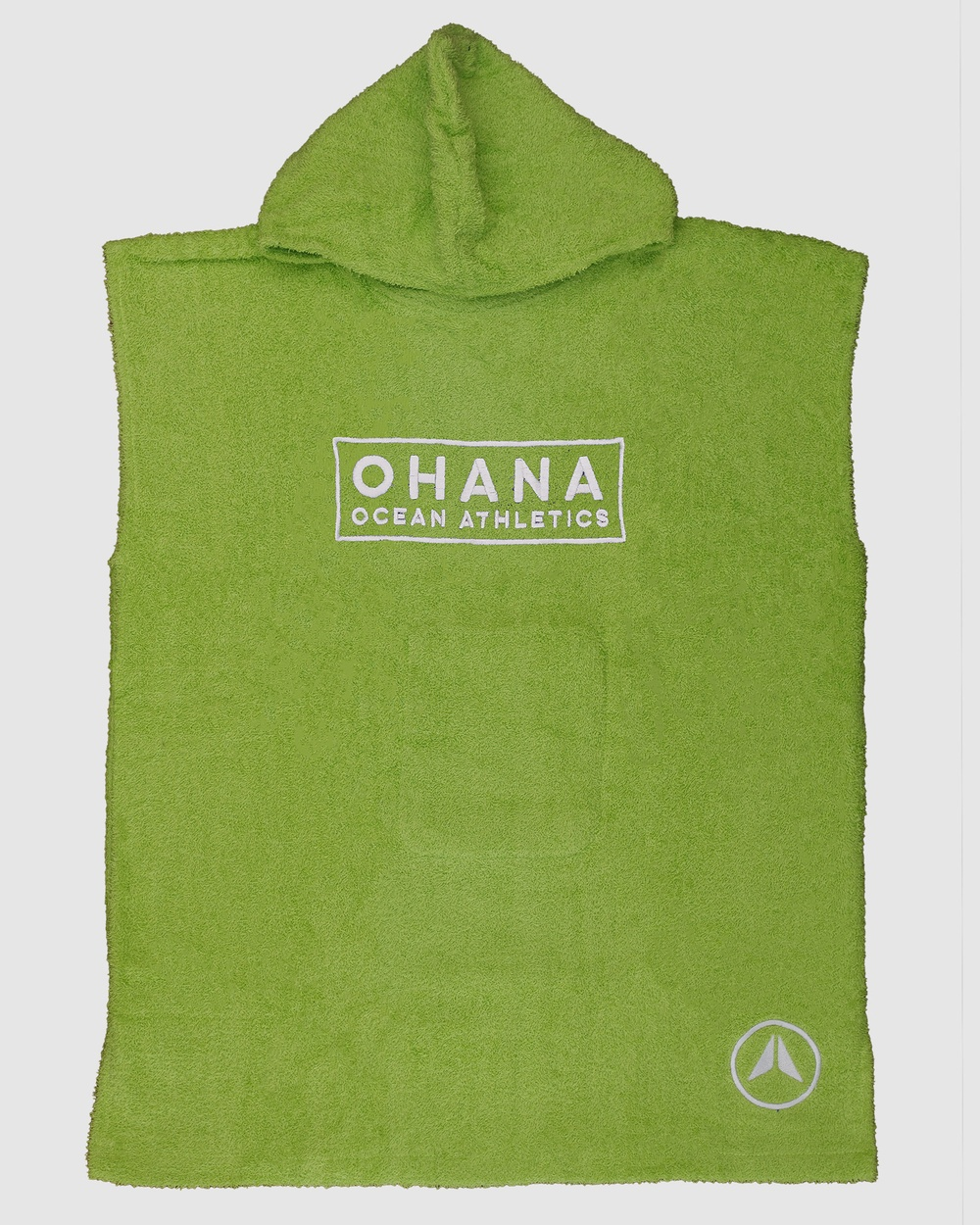 Ohana Junior Hooded Towel Tech Accessories Green Junior Hooded Towel