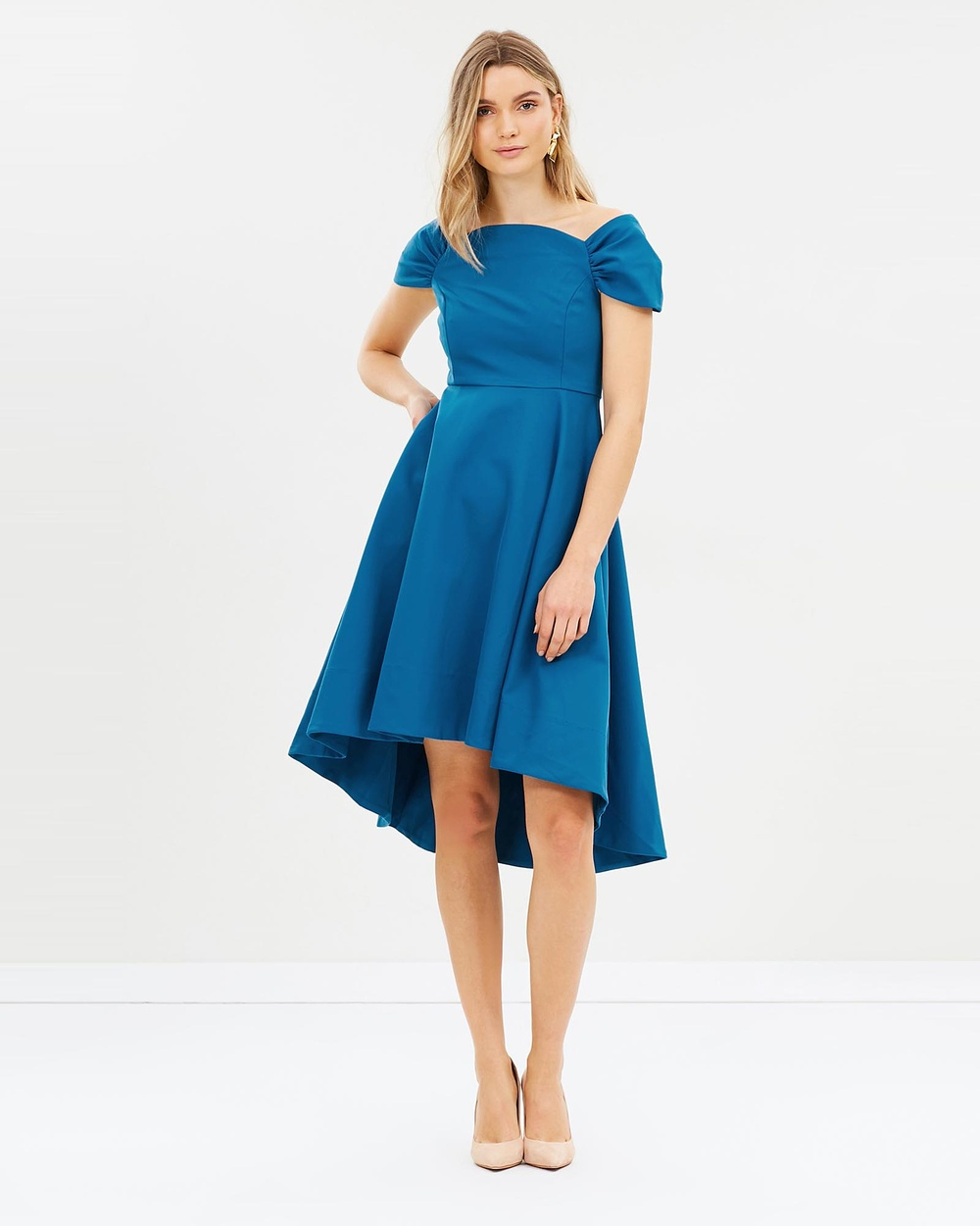 Elliatt Palace Dress Dresses Blue Palace Dress