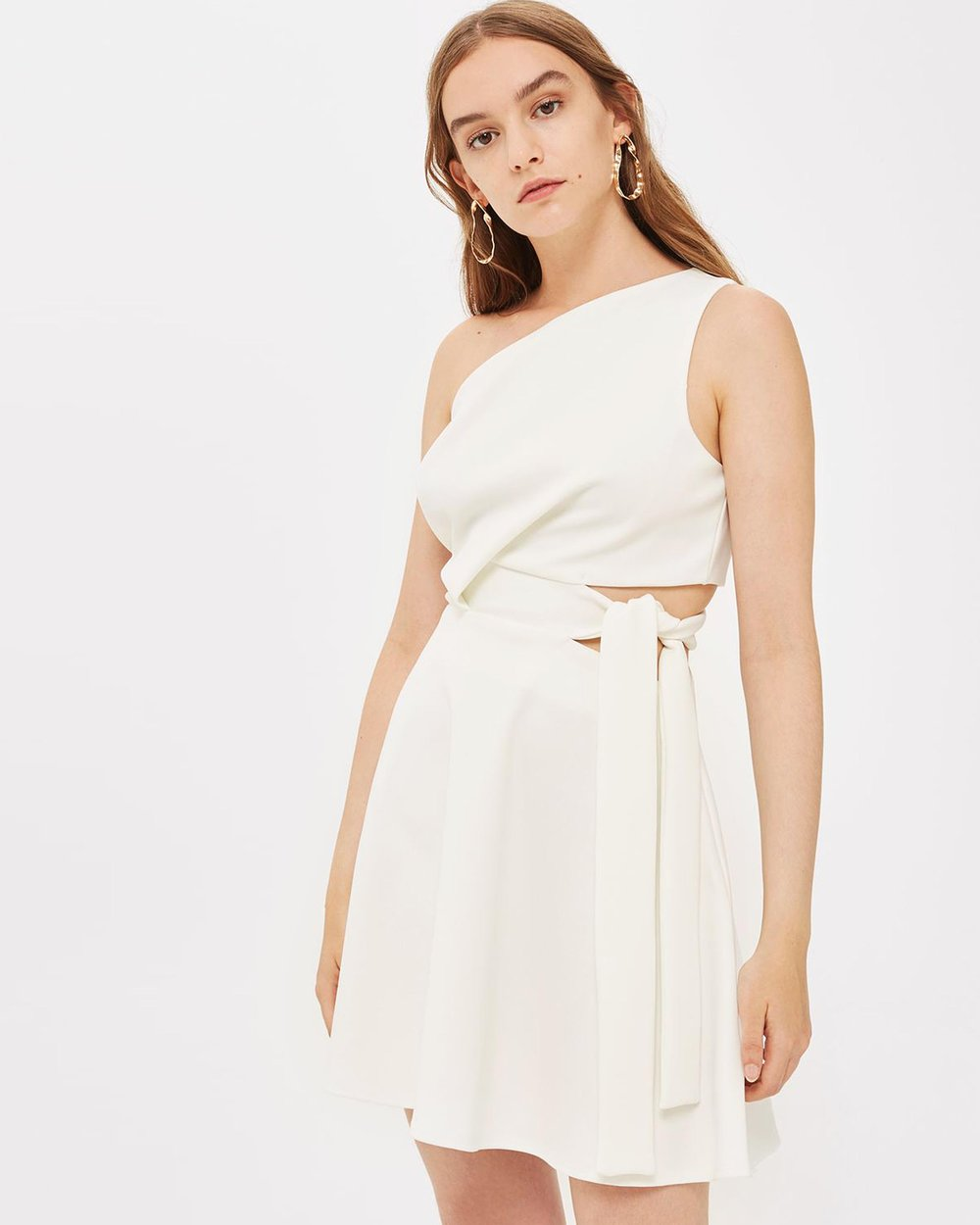 52e0497eeaa5 One Shoulder Prom Dress by TOPSHOP Online | THE ICONIC | Australia