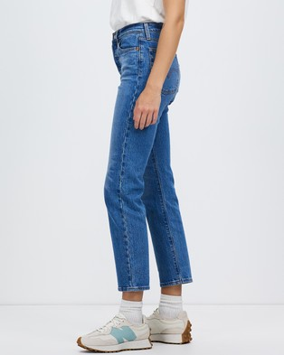 Levi's Wedgie Straight Jeans - Crop (Jive Sound)