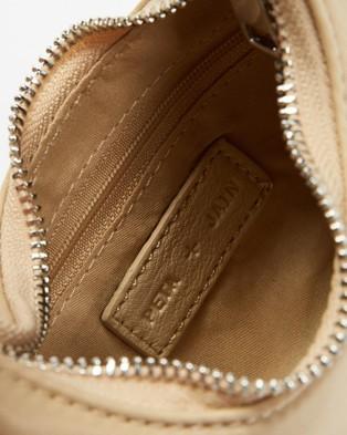 PETA AND JAIN Benji Shoulder Bag - Bags (Beige Nylon)