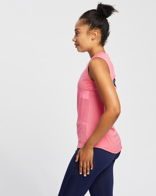 ASICS Gpx Tank   Women's - Short Sleeve T-Shirts (Peach Petal)