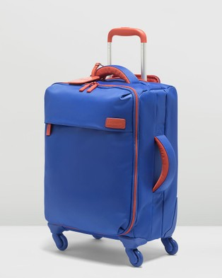 Lipault Paris Originale Plume Spinner 55cm Bi Colour Suitcase - Travel and Luggage (Blue)