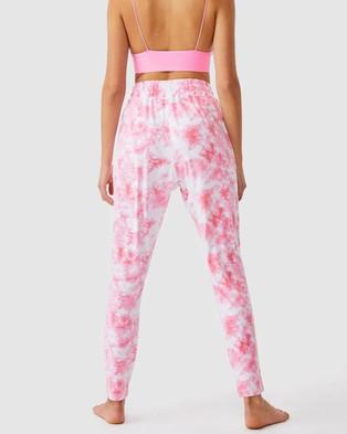 Cotton On Body The Lounge Pants - Sweatpants (Tie-Dye Pop Pink)