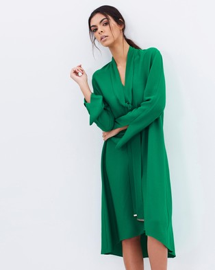 Ginger & Smart – Overture Dress Emerald