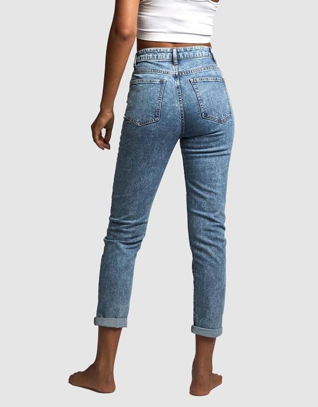 Women Stretch Mom Jeans