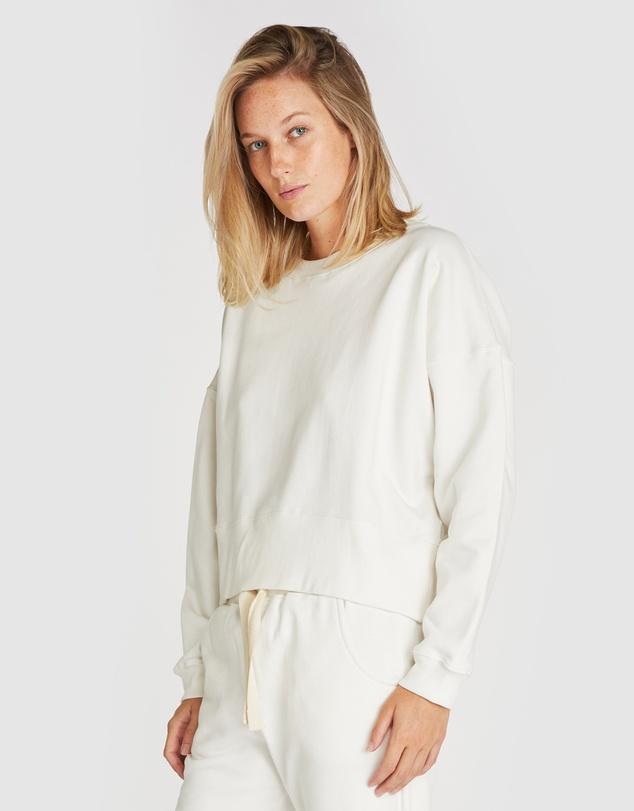 Women Organic Cotton Fleece Sweat